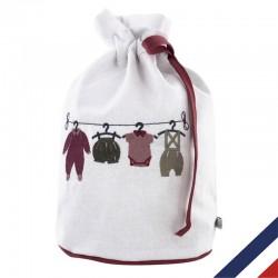 Pochon Dressing - Cadeau de naissance personnalisable