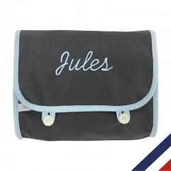 Trousse de toilette fabriquée en France et personnalisable