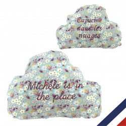 Coussin nuage personnalisable