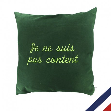 Coussin grand mère personnalisable made in france