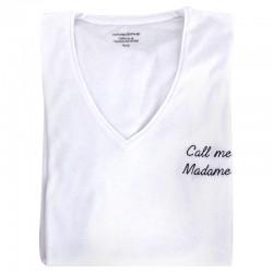 Tee-shirt Femme personnalisable par la broderie