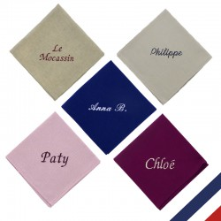 Serviette de table personnalisable