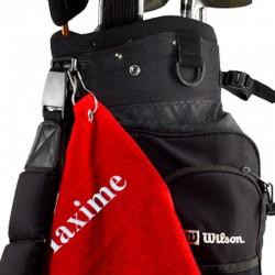 Serviette de golf personnalisable