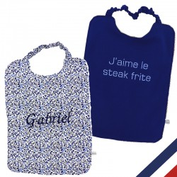 Bavoir maternel personnalisable made in france