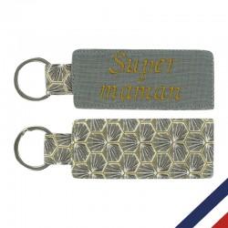 Porte-clés Etiquette