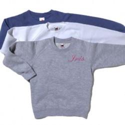 Sweat shirt enfant personnalisable