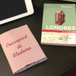 Protège passeport personnalisable