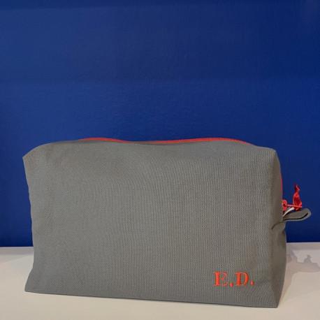 Trousse de toilette rectangle personnalisable