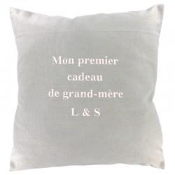 COUSSIN MON 1ER CADEAU DE GRAND-MÈRE