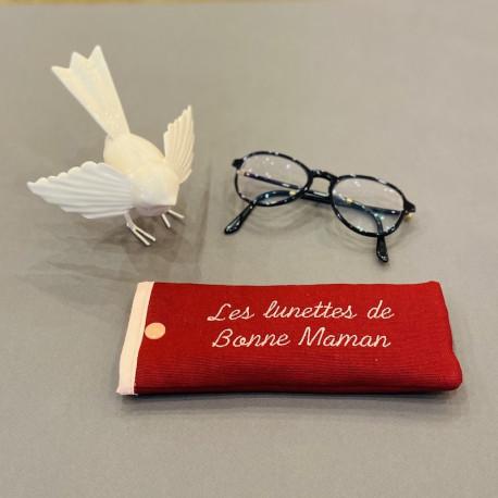Etui à lunettes personnalisable