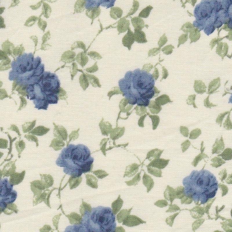 Grandes fleurs bleues