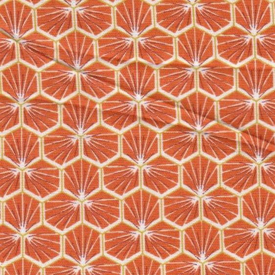 Hexagone orange