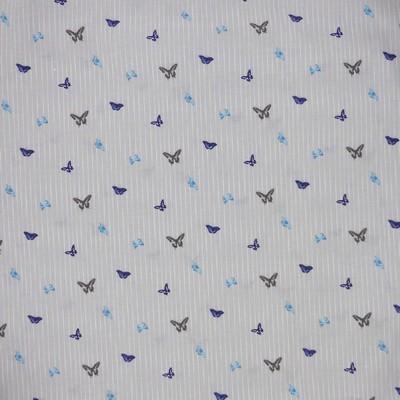 Papillons bleus