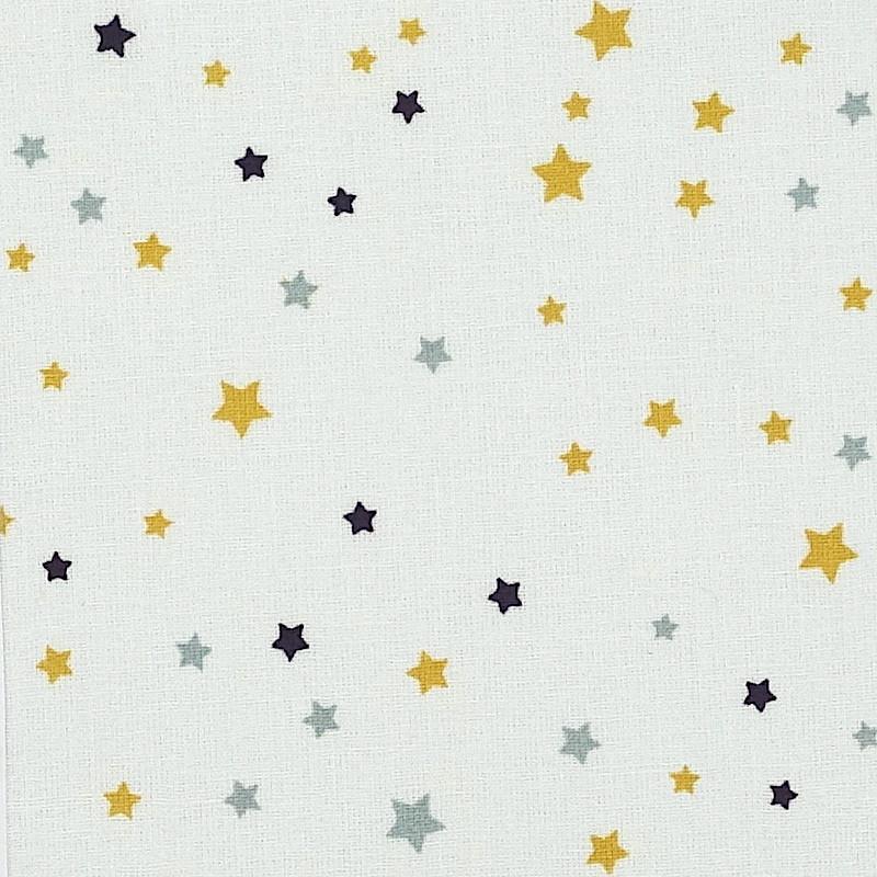 Étoiles grises et moutarde (New)