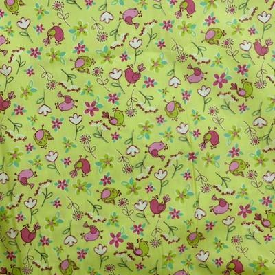 Tissu motif oiseaux
