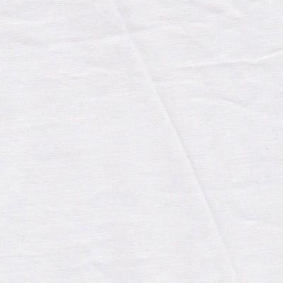 Tissu uni fin blanc