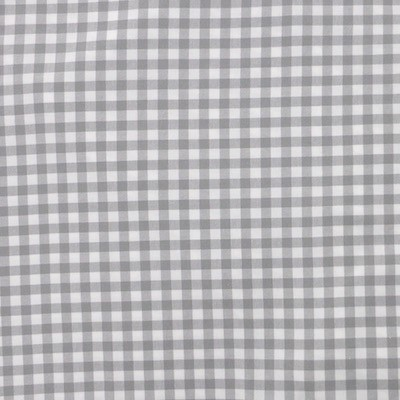 Tissu vichy gris