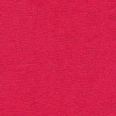 Tissu uni fin rouge orangé
