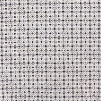 Tissu géométrie gris