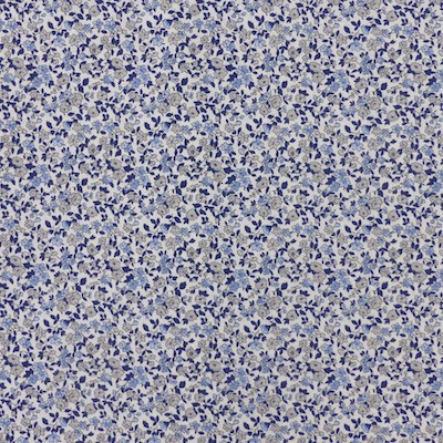 Tissu liberty bleu