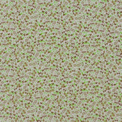 Tissu liberty vert