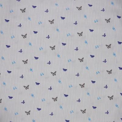 Tissu motif papillons