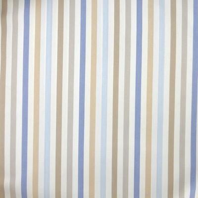 Tissu rayures bleues