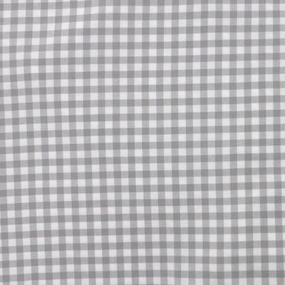 Tissus vichy gris