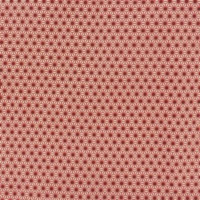 Tissu géométrie corail