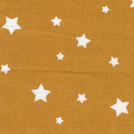 Étoiles jaunes moutardes